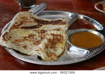 Indian food: Roti Canai