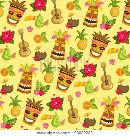Hawaii Luau Background