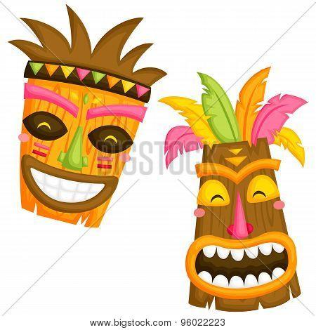 Luau Mask
