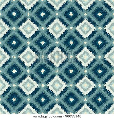 ethnic rhombus tribal seamless pattern