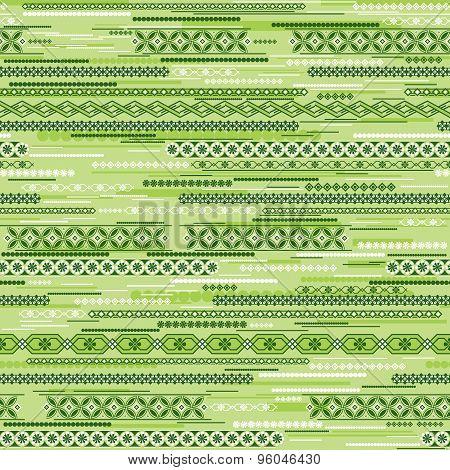 Green Geometric Seamless