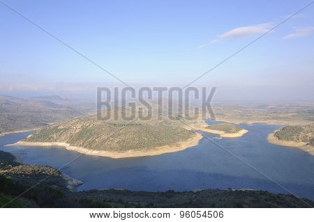 Kestel Dam Reservoir