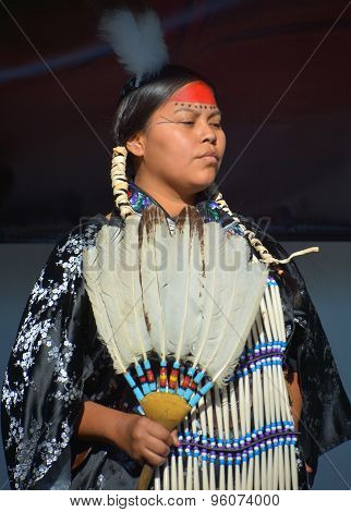 Native Indian people