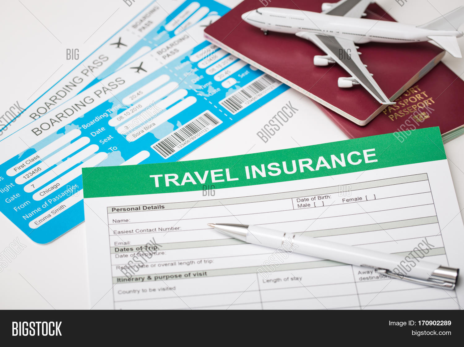 Travel Agent Ticket Image Photo Free Trial Bigstock