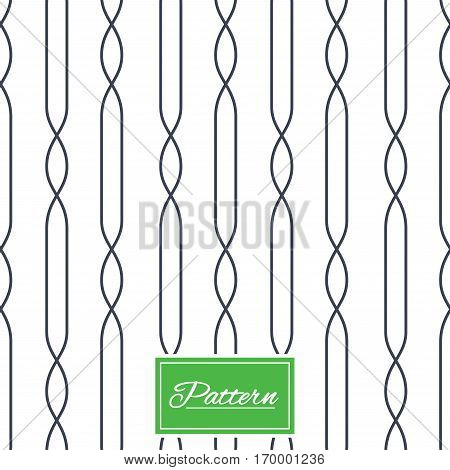 Lines with ellipse texture. Stripped geometric seamless pattern. Modern repeating stylish texture. Abstract minimal pattern background. Vector