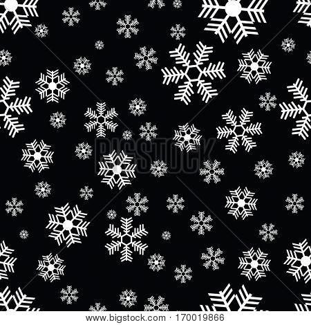 snowflake pattern cartoon