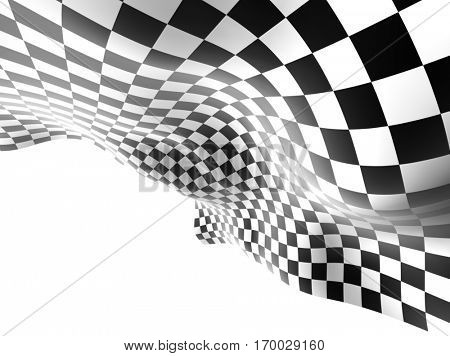 Checkered texture background illustration