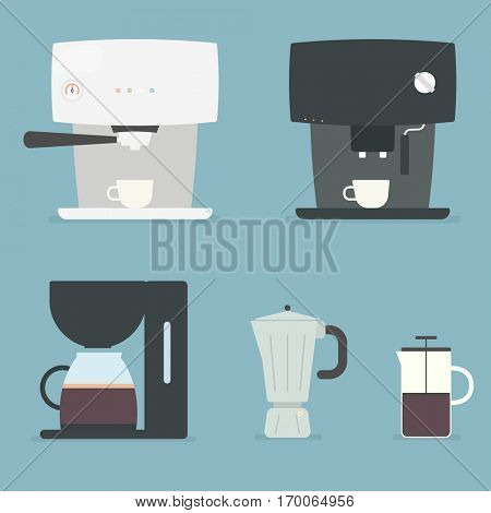 Coffee makers set