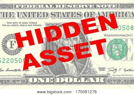 Hidden Asset - Financial Concept