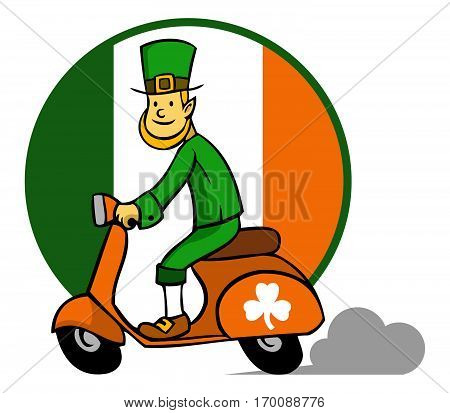 Vector illustration for Saint Patrick`s Day theme