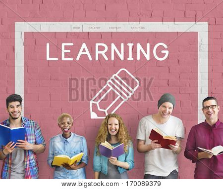 Education College Learning Knowledge Genius Concept