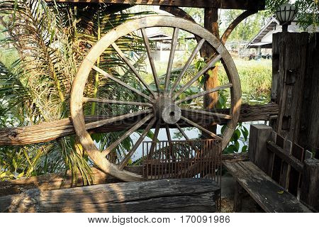Thai Wood Wheel