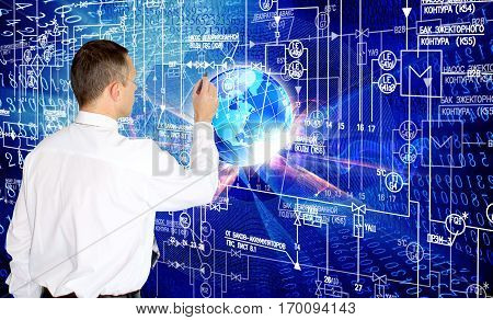 Engineer.  developer. software. engineering designing technology.programming software