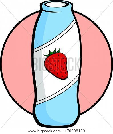 strawberry drinkable yogurt