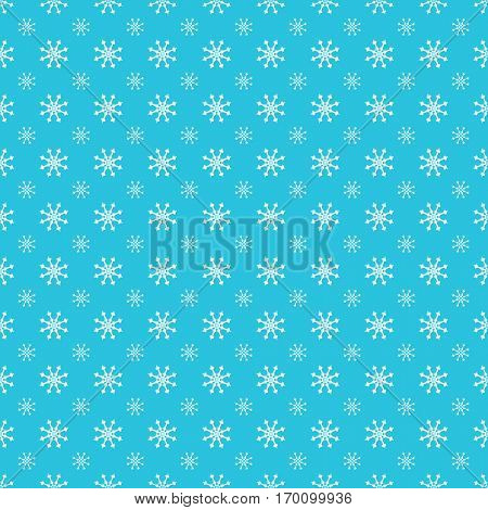 An image of a Repeating Snowflake Pattern.