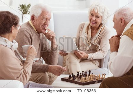 Chess Competition Between Friends