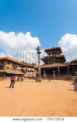 Bhaktapur Dattatreya Square Temple V