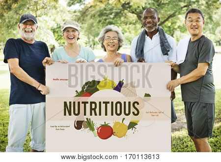 Healthy Eating Food Nutrition Concept