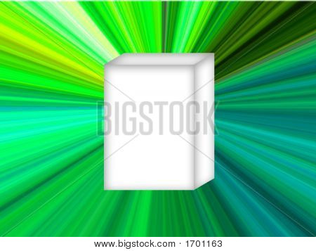 White Box Green Star