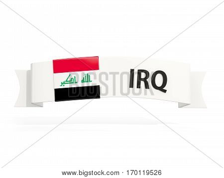 Flag Of Iraq On Banner