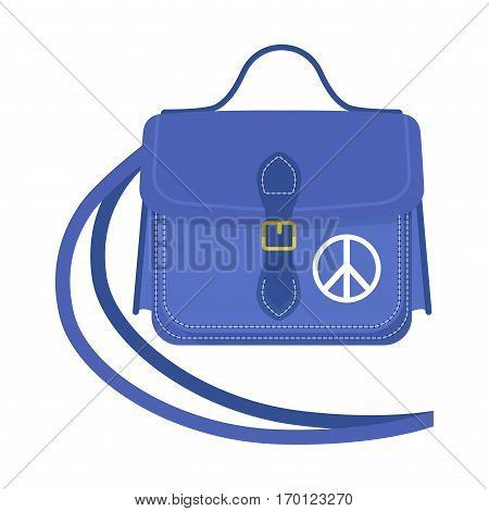 Travel tourism fashion baggage and vacation handle leather big packing briefcase. Voyage destination bag journey suitcase departure vector.