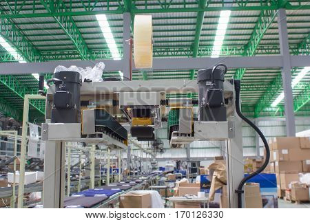 Semi-Auto Strapping machine line, machine, machinery, modern,