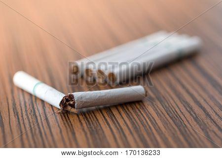 Stop smoking concept for good health concept