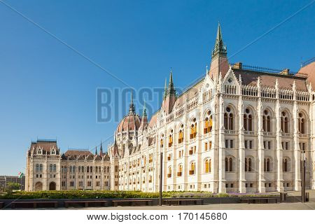 Hungarian Parliament Building Called