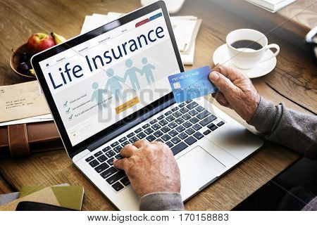 Life Insurance Health Protection Concept