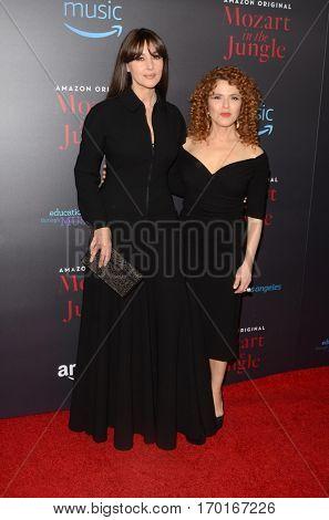 LOS ANGELES - DEC 1:  Monica Bellucci, Bernadette Peters at the