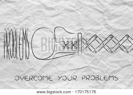 Boxing Glove Hitting The Word Problem