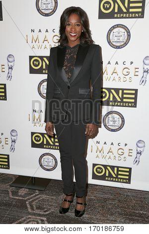 LOS ANGELES - JAN 28:  Rutina Wesley at the 48th NAACP Image Awards Nominees' Luncheon at Loews Hollywood Hotel on January 28, 2017 in Los Angeles, CA