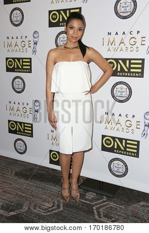 LOS ANGELES - JAN 28:  Susan Kelechi Watson at the 48th NAACP Image Awards Nominees' Luncheon at Loews Hollywood Hotel on January 28, 2017 in Los Angeles, CA