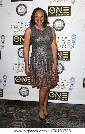 LOS ANGELES - JAN 28:  Dr. Clarissa Culbreath at the 48th NAACP Image Awards Nominees' Luncheon at Loews Hollywood Hotel on January 28, 2017 in Los Angeles, CA