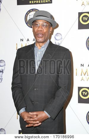 LOS ANGELES - JAN 28:  Joe Morton at the 48th NAACP Image Awards Nominees' Luncheon at Loews Hollywood Hotel on January 28, 2017 in Los Angeles, CA