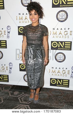LOS ANGELES - JAN 28:  Amirah Vann at the 48th NAACP Image Awards Nominees' Luncheon at Loews Hollywood Hotel on January 28, 2017 in Los Angeles, CA
