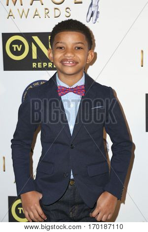 LOS ANGELES - JAN 28:  Lonnie Chavis at the 48th NAACP Image Awards Nominees' Luncheon at Loews Hollywood Hotel on January 28, 2017 in Los Angeles, CA