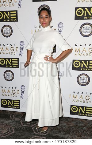 LOS ANGELES - JAN 28:  Tracee Ellis Ross at the 48th NAACP Image Awards Nominees' Luncheon at Loews Hollywood Hotel on January 28, 2017 in Los Angeles, CA