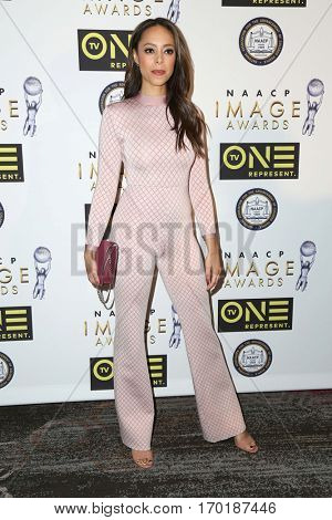 LOS ANGELES - JAN 28:  Amber Stevens West at the 48th NAACP Image Awards Nominees' Luncheon at Loews Hollywood Hotel on January 28, 2017 in Los Angeles, CA
