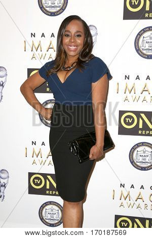 LOS ANGELES - JAN 28:  Deborah Riley Draper at the 48th NAACP Image Awards Nominees' Luncheon at Loews Hollywood Hotel on January 28, 2017 in Los Angeles, CA