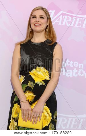 LOS ANGELES - JAN 28:  Cara Buono at the Variety's Celebratory Brunch Event For Awards Nominees at  Cecconi's on January 28, 2017 in West Hollywood, CA