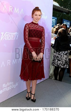 LOS ANGELES - JAN 28:  Annalise Basso at the Variety's Celebratory Brunch Event For Awards Nominees at  Cecconi's on January 28, 2017 in West Hollywood, CA
