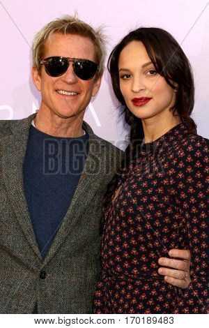 LOS ANGELES - JAN 28:  Matthew Modine, Ruby Modine at the Variety's Celebratory Brunch Event For Awards Nominees at  Cecconi's on January 28, 2017 in West Hollywood, CA