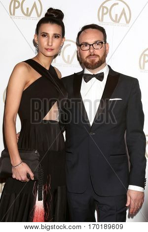 LOS ANGELES - JAN 28:  Guest, Dana Brunetti at the 2017 Producers Guild Awards  at Beverly Hilton Hotel on January 28, 2017 in Beverly Hills, CA