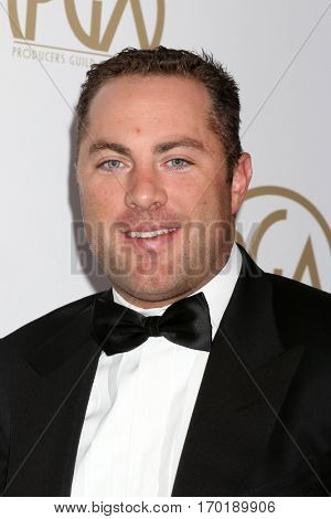 LOS ANGELES - JAN 28:  Jay McGraw at the 2017 Producers Guild Awards  at Beverly Hilton Hotel on January 28, 2017 in Beverly Hills, CA