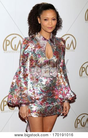 LOS ANGELES - JAN 28:  Thandie Newton at the 2017 Producers Guild Awards  at Beverly Hilton Hotel on January 28, 2017 in Beverly Hills, CA