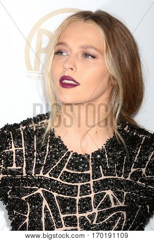 LOS ANGELES - JAN 28:  Teresa Palmer at the 2017 Producers Guild Awards  at Beverly Hilton Hotel on January 28, 2017 in Beverly Hills, CA