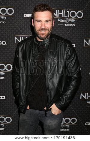 LOS ANGELES - JAN 27:  Clive Standen at the NHL 100 Gala at Microsoft Theater on January 27, 2017 in Los Angeles, CA