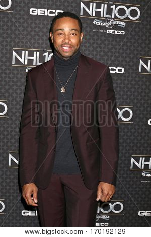 LOS ANGELES - JAN 27:  Kevin Phillips at the NHL 100 Gala at Microsoft Theater on January 27, 2017 in Los Angeles, CA