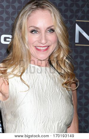 LOS ANGELES - JAN 27:  Tracy Pollan at the NHL 100 Gala at Microsoft Theater on January 27, 2017 in Los Angeles, CA